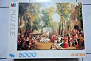 5000 Piece Puzzle And039fair In The Champs-elysandeacuteesand039 By William Parrot - Very Rare
