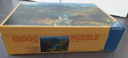 12000 Piece Puzzle The Royal Castles Neuschwanstein1985 Extremely Rare And New