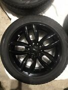 Mini Cooper S Countryman All4 Oem Set Of 4 Wheels And Tires 205/55/r17 Black
