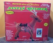 Video Santa Rudolph The Red Nosed Reindeer Telco Motionette Animated Christmas