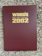 Wards Automotive Yearbook 2002 64th Edition