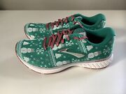 New Brooks Revel 3 Run Merry Ugly Sweater Christmas Womenand039s Shoes - Sz 8.5