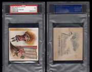 1888 N36 Allen And Ginter American Indian Chiefs Arkikita Psa 1   / 4000