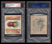 1888 N36 Allen And Ginter American Indian Chiefs Agate Arrow Point Psa 2 /4021