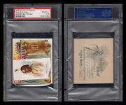 1888 N36 Allen And Ginter American Indian Chiefs White Swan Psa 2.5 /4025