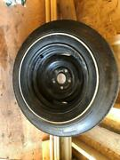 Rare 14x7 Ford Rim With Original Goodyear Tire From 1970 Torinocyclone