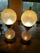 Vintage Rare Accurate Casting Clear Lamp Set