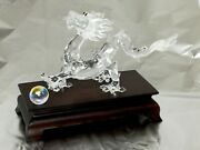 Asian Collection Figura Crystal Original Chinese Dragon 115x180x75mm