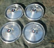 1970 - 1972 Buick Skylark 14 Wheel Covers 14 Hubcaps Oem 1971 70 71 72 455 400