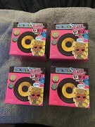 Lol Surprise Remix Hair Flip Dolls - Brand New And Sealed W 15 Surprises Lot Of 4