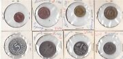 West Germany Rare 8 Dif Proof Coins Set 1 Pfennig - 5 Mark 1966 Year G