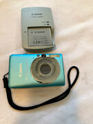 Canon Powershot Sd1200 Is Digital Camera W/ Charger And Battery