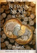 Buffalo Nickel Starter Collection10bhn In New Harris Coin Folder Coins Included