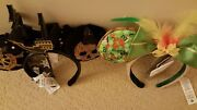 Disney Minnie Mouse The Main Attraction February May Ears Lot Tiki Pirates Bnwt