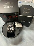 Citizens Eco-drive Mens Watch Disney Mickey Mouse Double Face Stainless New