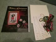 Rare Bette Ashley Father Christmas Cross Stitch Kit Opened But Complete New