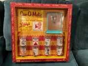 Vintage Amsco Libbyand039s Can-o-matic Kitchen Toy With Libbyand039s Canned Play Foods