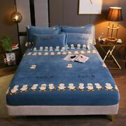 Bedspread Fitted Sheets Home Mattress Comfortable Covers Elastic Band Bedsheets
