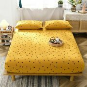 Mattress Cover Bedding Fitted Sheets Home Stylish Bedrooms Protective Bedsheets