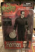 Munsters Herman Munster Diamond Select Toys R Us Exclusive Black And White 2011