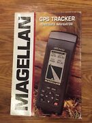Magellan Gps Tracker W/ Ext Power Cable 12 Chan Receiver For Outdoor And Marine