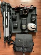 Canon Eos 80d 24.2 Mp Digital Slr Camera - Black Body Only Lenses And Others