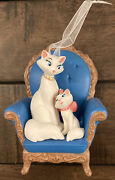 Hallmark 2020 Disney Aristocrats 50th Anniversary Porcelain Cats 🐈andzwj⬛ Sold Out