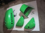 73-76 Kawasaki Kh250 Mach I Fuel Gas Tank Side Covers Tail Section Full Body Set