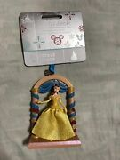 Disney 2020 Belle Beauty And Beast Fairytale Moments Sketchbook Christmas Ornament