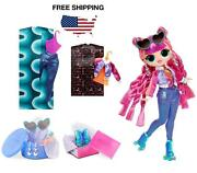 Lol Doll Fashion Roller-skate Stylish Girl With 20 Accessories Surprise Gift