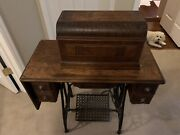 Antique Sterling Sewing Machine W/ Treadle Cabinet- Local Pickup Only Cincinnati