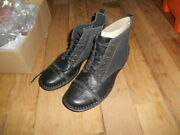 Clarks Whistle Watch Leather Ankle Boots, Women Size Us 6m Eu36 Uk 3.5d