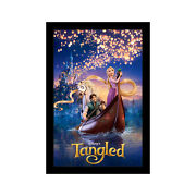 Tangled - 11x17 Framed Movie Poster By Wallspace