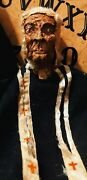 19th Century Cork Hand Puppet Really Rare And Old Oddities Vintage Must See