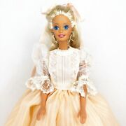 Vintage Barbie Custom Restyled Ooak Victorian Dress Costume Outfit With Doll