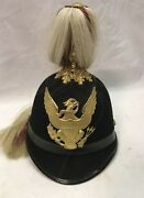 Us Military 1898 Mounted Service Indian Wars Cavalry Scout Dress Helmet M1881