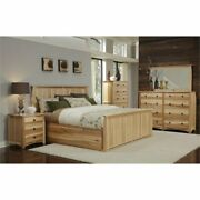 Bowery Hill Queen Storage Bed In Natural