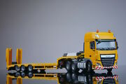For Daf Euro 6 Ssc 6x4 3 Axis Low Board Trailer Tractor 1/50 Diecast Model Truck
