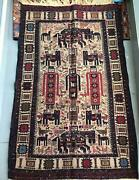 Handmade Carpet From Afghanistan 🇦🇫 Made With 100 Wolf .