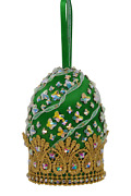 Satin Beaded Christmas Ornament Kit - Off To See The World