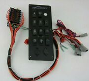 Falcon Bass Boat Dash Switch Panel With Fuse Panel- Boat Switches