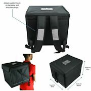 Backpack Delivery Bag Foil Insulated Food Pizza Delivery For Motorbikes And Bikes