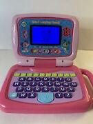 Leap Frog 2 In 1 Leaptop Touch Pad, Pink, 5 Learning Modes