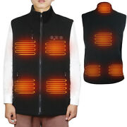 Arris Heated Vest 7.4v Battery Electric Warm Vest W/ 8 Heating Zone