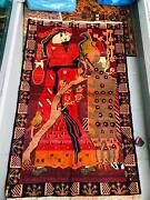 Old Style Handmade Carpet Made From Afghanistan With 100wolf Material.