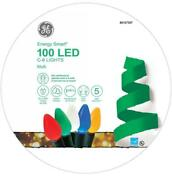 New Ge Energy Smart C6 100-count Led Multicolor Led Christmas String Lights