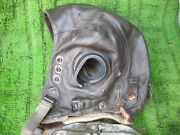 Ww2 Raf C Type Helmet And Goggles Have Cracked Lenz But Can Change These