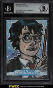 2017 Topps Star Wars Galactic Files Harry Potter Sketch Card 1/1 Bas