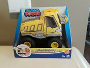 Plush Power Squeezable Rc Racer Dump Truck Soft Body Tires And 2 Way Steering 2c