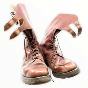 Ww2 Canadian Army Officers Boots Named 1944 Dated British Issue